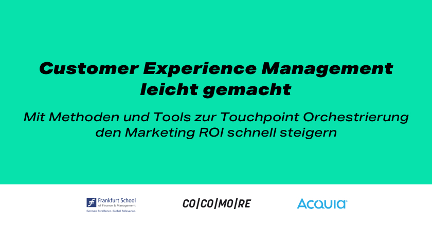 Cocomore Rapid Touchpoint Management